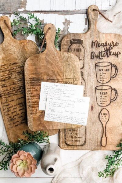 Mother's Day, Recipes, cutting board